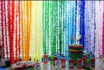 Rainbow Party Ideas / Rainbow party ideas - because rainbows rule!! / by Mary Jo Cameron