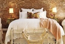 bedtime / bedroom design and decor.