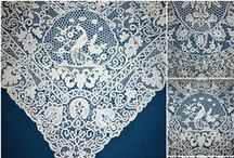 Lace & Linens / #Antique and vintage hand mad #lace, needle lace, #Brussels Lace, #French and #Italian lace, every one a piece of art, an #heirloom collectible. The finest quality, nothing spells romantic and feminine as much as Lace does.  To wear, to layer on your tables and windows, lace bring feminine charm everywhere. / by French Garden House