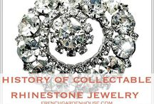 Sparkle Bling / Vintage rhinestone jewelry, antique diamonds, they all add sparkling chic to your fashionable outfits.