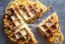 Waffling / Unexpected recipes for the waffle iron. The one rule: no waffle batter — we already know it will waffle.