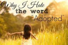 Adoption / Adoption resources, Gotcha stories, Foster Care resources, etc