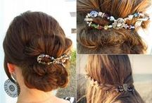 Hair Styles / Hairstyles for long hair, Lilla Rose Clip ideas.