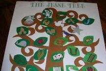 Jesse Tree / Celebrating the birth of our Saviour Jesus Christ and using a Jesse tree to teach these truths to our children.