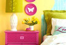 Declutter Buddies - Master Bedroom Inspiration / Declutter Buddies inspiration board of beautifully decluttered Master Bedrooms (By GoodOldDaysFarm.com)