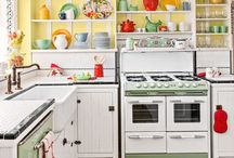 DeClutter Buddies - Kitchen Inspiration / This board is for members of the (De)Clutter Buddies course at GoodOldDaysFarm.com  Find lots of ideas for setting up a kitchen that is attractive and functional.