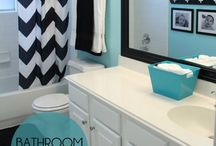 Declutter Buddies - Bathroom Organization Ideas / This board is especially for those taking the DeClutter Buddies Challenge at GoodOldDaysFarm.com  Find plenty of inspiration for creating a bathroom that is clutter free, peaceful and yet efficient.