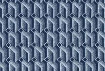 African Fabrics: shwe-shwe / Shwe-shwe is a special cotton fabric that was imported form German into South Africa starting in the late 1800's. It has intricate patterns and was originally only printed in indigo. Its a key part of the South African identity! see http://www.africanthreads.ca for my fabric essays.