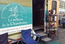 Boutique mobile / Chaque année, La Sellerie de la Chambrière se promène sur les sites de compétition classique et western avec sa boutique mobile pour toujours mieux vous servir.