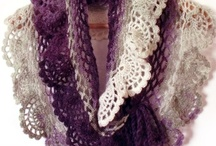 Crochet and Knitted Shawls/  love to make