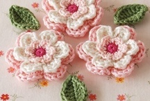 Crocheted Flowers; A
