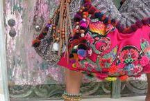 bohème / colorful patterns, lively style