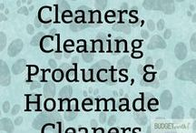 Household Cleaners, Cleaning Products, & Homemade Cleaners / Looking for homemade cleaners and cleaning products that are safe for everyone in your household? Check out some of these awesome household recipes and see why we are big fans of going green when it comes to spring cleaning!