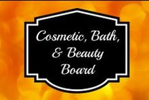 Cosmetic, Bath, & Beauty Items / Beauty items that have been reviewed on Budget Earth or products I personally love or find interesting.  / by Susan Bewley