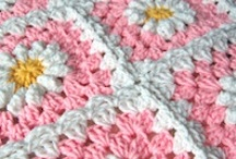 Crocheted Afghans and spreads 1