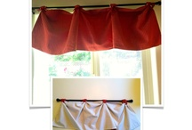 How to Make a Valance / Inspiring DIY valance window treatments. For a roundup of tutorials, visit www.angelab.me/how-to-make-a-valance-a-sewing-project-roundup/