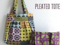 How to Make a Handbag / Inspiring DIY handbags. For a roundup of tutorials, visit www.angelab.me/how-to-make-a-handbag-a-sewing-project-roundup/