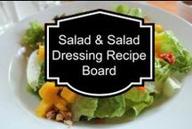 Salads & Dressings / by Susan Bewley