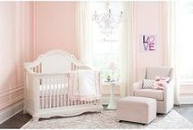 Dream Nursery / One of the most exciting parts of bringing home your baby is setting up the nursery! Here's some inspiration to help you create the nursery of your dreams.