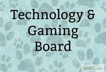 Technology & Gaming Board / Looking for cool tech ideas or the latest apps to help you make your home fun? This board includes everything tech related that Susan at Budget Earth finds interesting, including video games, computer hardware, software, iPhone apps, and even tech accessories perfect for busy professionals!