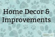 Home Decor & Improvements / Need some inspiration when it comes to home decorating? Check out some of our favorite home improvement projects, products that can help you decorate, or things that just seem like fun decorating ideas for kids room, living rooms, and even bathrooms. Who said you need an interior decorator?