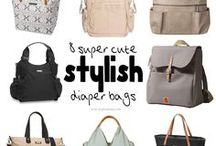 Diaper Bags Packed with Style / For the busy parent on the go, diaper bags can be a life saver. Packed with great features and storage options, as well as, stylish designer looks, today's bags make sure any parent is fully prepared for anything!