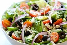 Food & Drink - Salads / For when it's too hot to cook.