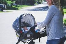 Stroller Style / Strollers keep infants securely in place and comfortably in position when the parents are out-and-about. Comparable to seating in a luxury vehicle, they are loaded with comfort and safety features that will make your baby feel like they are strolling around in luxury while escorted by their chauffeur. Also designed for parent's convenience with ease of use, lightweight framing and functionality.