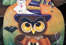 Crafts - Decorative Painting - Fall/Halloween / by Debra Shaw