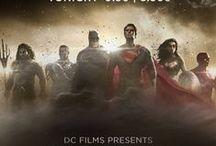 DC Films / DCEU / The DC Films Universe includes Man of Steel, Batman v Superman: Dawn of Justice, Suicide Squad, Wonder Woman, Justice League, The Flash, Aquaman, Shazam, and mo