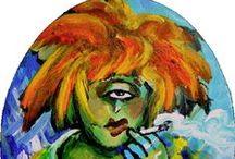 Diane Collet - Acrylic Paintings/Peintures acryliques / www.dianecollet.com