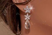 Bridal Earrings, Wedding Jewelry