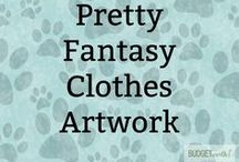 Pretty Fantasy Clothes Artwork / Looking for character inspiration? Different fantasy & anime clothes ideas (and just pretty artwork).