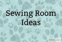 Sewing Room Ideas / Looking for ideas for organizing a new sewing room? Check out these spiffy sewing room remodel & sewing room storage ideas!