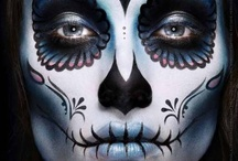 Makeup - Sugarskull / by Mareli Basson