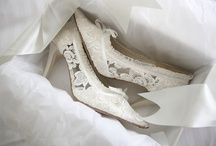 Lace Wedding boots & Bridal shoes