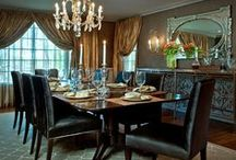 Interiors - Dining  / by Linda Hilliard