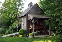 Yard - Garden Sheds / by Linda Hilliard