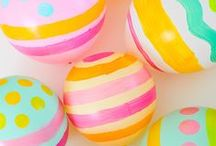 Easter Parade / Pastels, spring flowers and of course... eggs! Easter is such a fun holiday to decorate your house for & to welcome the beautiful season of spring :)