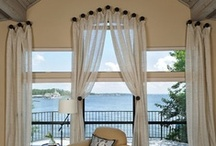Window Treatments / by Linda Hilliard