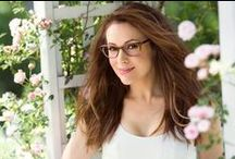 Touch by Alyssa Milano Eyewear / Touch by Alyssa Milano eyewear expands the Touch brand with a selection of sixteen frames and endless style combinations. Designed for a fun and fearless woman, this collection is an extension of Alyssa's casual, sultry style. / by Coastal.com