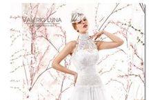 Colección novia 2015 Valerio Luna. / Valerio Luna presenta una colección inspirada en un jardín de rosas lleno de color y delicadas texturas, los tejidos vaporosos crean vestidos llenos de vida y elegancia, decorados con pedrerías como complemento perfecto. Una fusión mágica entre mujer y naturaleza.