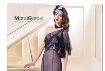 Colección 2015 fiesta #ManuGarcia / Manu García nos sorprende con una colección de fiesta muy femenina inspirada en la música. La amplia variedad de diseños en su colección hace sea ideal para que la luzcan #invitadas, #damasdehonor o #madrinas.