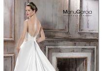 2016 Colección novia de Manu García / ¡En la nueva colección de novias de Manu García seguro que encuentras el vestido de tus sueños!
