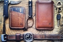 EDC / Everyday Carry, or EDC, generally refers to small items or gadgets worn, carried, or made available in pockets, holsters, or bags on a daily basis to manage common tasks or for use in unexpected situations or emergencies. In a broader sense, it is a lifestyle, discipline, or philosophy of preparedness. // http://everyday-carry.com/ / by Luis Godinez