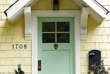Doors / home doors, home door ideas, home door inspiration, interior doors, exterior doors