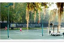 Palmetto Dunes Tennis Center / Tennis Magazine named the Palmetto Dunes #Tennis Center the top tennis resort in the Carolinas.  / by Palmetto Dunes Oceanfront Resort