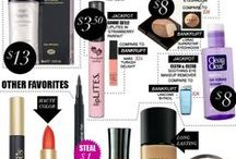 Makeup, skincare and hair / All kinds of beautystuff I love