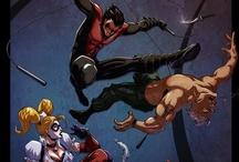 Nightwing / My favorite Hero next to Batman / by Steven Gonzales