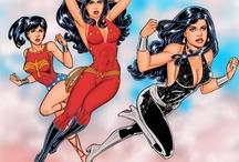Wonder Girl & Artimus / by Steven Gonzales